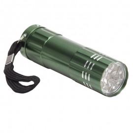 9-DIODOWA LATARKA LED  (FULL COLOR)