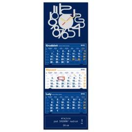 10 sztuk Kalendarzy z zegarem