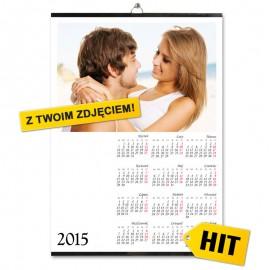 Kalendarze listwowe A2- druk offsetowy