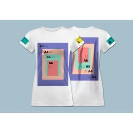 Koszulki z nadrukiem T-shirt Classic FULL COLOR Od Jednej Sztuki