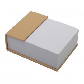 Blok z karteczkami  beżowy  ECO