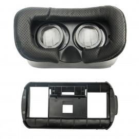 Okulary do wirtualnej rzeczywistości Cyberspace, biały/czarny