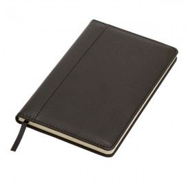 Notatnik 130x210/80k kratka Forli, czarny