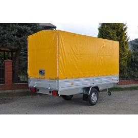 Przyczepa samochodowa jednoosiowa lekka  EURO A-750/H5 PLATFORMA