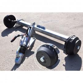 układ hamowania 1800 kg