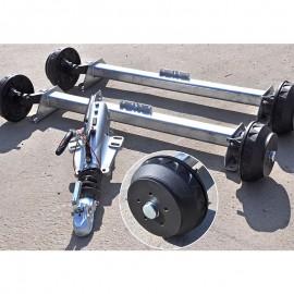 Układ hamowania 3000 kg