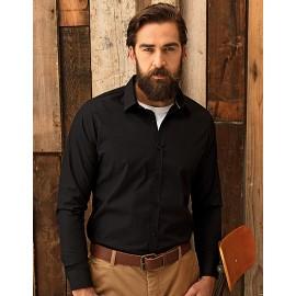 Mens Long Sleeve Fitted Friday Bar Shirt