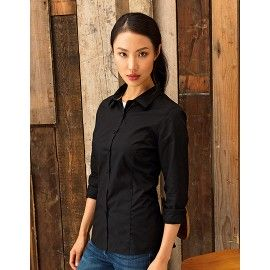 Zoom Ladies Long Sleeve Fitted Friday Bar Shirt