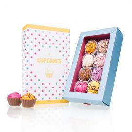8 amerykańskich Cupcakes